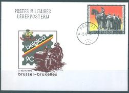 BELGIQUE - 2.6.1990 - POST X3 - BELGICA 90 - COB 2369 - Lot 15464 - Military Post