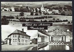 MANDERFELD - Hôtel Des Ardennes - 3 Vues Diverses -  Non Circulé - Not Circulated - Nicht Gelaufen. - Bullange - Buellingen
