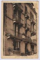 LOURDES HOTEL CENTRAL  CARTE PUBLICITAIRE - Hotels & Gaststätten