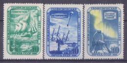 64-356a // USSR - 1958  START Geophysical  YEAR   Mi 2103/05 **