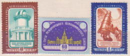 64-354 // USSR - 1958  ASTRONOMY CONGRESS   Mi 2110/12 **