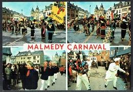 MALMEDY - Carnaval: 4 Vues Diverses  - Non Circulé - Not Circulated - Nicht Gelaufen.