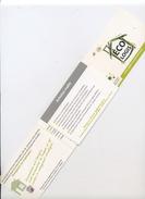 PETIT DEPLIANT À TIRETTE SUR L' ECO LOGIS (FORMAT CARTE DE VISITE) - Fatture & Documenti Commerciali