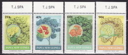 PAPUA NEW GUINEA 1992,  FLOWERING TREES Mi 668-671 MNH**