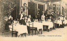 Métiers Paris Vécu  ,pendant La Belle Saison, Robert 73, Restaurant - Lots, Séries, Collections