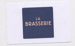 HOTEL LAUDINELLA / LA BRASSERIE - ST MORITZ Edit:   FORMAT 5,5 X 8,5 - Cartoncini Da Visita