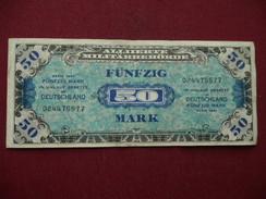 ALLEMAGNE Billet De 50 Mark 1944 TTB - [ 5] 1945-1949 : Allies Occupation
