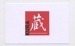 HOTEL LAUDINELLA / KURA JAPANESE RESTAURANT - ST MORITZ Edit:   FORMAT 5,5 X 8,5 - Cartoncini Da Visita