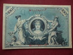 ALLEMAGNE Billet De 100 Mark 1908 Superbe état - [ 2] 1871-1918 : Duitse Rijk