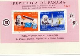 PANAMA / ESSA 8 Espace Bloc 2 Valeurs Dentelées Neuves MNH Cote 50.00 Vente 15.00 Euros