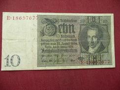 ALLEMAGNE Billet De 10 Mark 1929 - [ 3] 1918-1933 : Weimar Republic