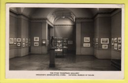 Cardiff, National Museum Of Wales, Pyke Thompson Gallery - B. Mathews Ltd. RPPC - 1948 - Glamorgan
