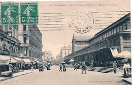 Cpa 31 Toulouse  Rue  Du Rempart-Villeneuve Marché Victor Hugo - Toulouse
