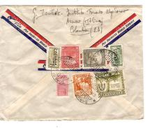 Columbia-Colombie Air Mail Cover C.Ibague 15/4/1950 To Belgium PR4615 - Colombie