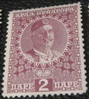 Montenegro 1913 Prince Nicholas I 2pa - Unused