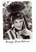 Carte Moderne Thème Vendange R. Moisy - Bourgogne Groupe MATISCONIA - Femme Pin'up TASSÉE TASSE Dégustation Vigne Coiffe - Viñedos
