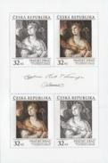 Czech Republic - 2017 - Prague Castle - Paolo Caliari Veronese - St. Catherine With Angel - Mint Miniature Sheet - Czech Republic