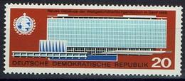 DDR 1966 - MiNr 1178 - Weltgesundheitsorganisation - Verwaltungsgebäude Der WHO In Genf - Geneve - Ungebraucht