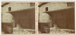 En 1900 ITALIE FLORENCE FIRENZE : Maison De DANTE - PHOTO STÉRÉOSCOPIQUE STEREO STEREOVIEW - Stereoscoop
