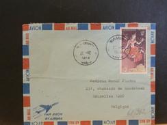 68/962   LETTRE LAOS POUR LA BELG.  1973