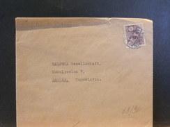 68/961   LETTRE JAPON POUR ZAGREB.  1937