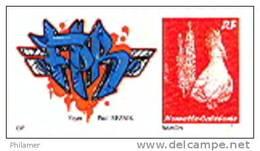 Nouvelle Caledonietimbre Personnalise Prive Association Caledonienne Handicapes Foyer Reznik Handicap 2012 - Nouvelle-Calédonie