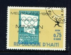 HAITI  -  1969  Olympic Marathon Winners  75c  Used As Scan - Haïti