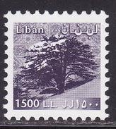 LEBANON,LIBAN 1999 TREES   Mi 1400C MNH**