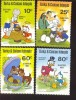 #  S-715  MINT NEVER HINGED SET OF STAMPS OF DISNEY ; EASTER ;    ( TURKS & CAICOS   476-9 - Disney