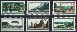 DDR 1966 - MiNr 1179-1184 - Natur- Und Landschaftsschutzgebiete - Protection De L'environnement & Climat