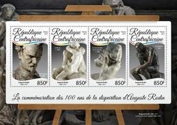 Centrafrica 2017, Art, Rodin, 4val In BF