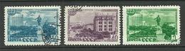 RUSSLAND RUSSIA 1948 Michel 1298 - 1300 O