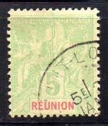 Col 4/ Reunion  N° 35 Oblitéré  Cote 2,50€ - Oblitérés