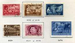 13 Timbres De Hongrie