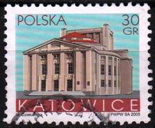 Poland 2005 1 V Used Polish Cities  Katowice Silesian Theatre