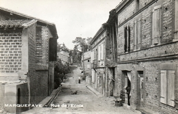 MARQUEFAVE....rue De L Ecole..... - Francia