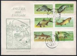 DDR  Brief Echt Gelaufen  MiNr. 3095-3100 - Lettere