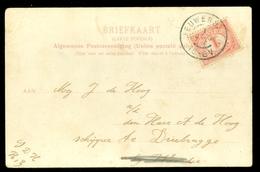 NEDERLAND BRIEFKAART Uit 1904 Gelopen Van NIEUWERSLUIS Naar DRIEBRUGGE  (10.628g) - Period 1891-1948 (Wilhelmina)