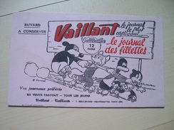 BUVARD Rose VAILLANT Vaillante PIF PLACID MUZO Nouche Nigo ARNAL Parti Communiste Humanité Patins à Roulettes Patin - Buvards, Protège-cahiers Illustrés