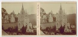 Année 1900 ITALIE GENOA GÊNES : Monuments Du CAMPO SANTO - PHOTO STÉRÉOSCOPIQUE STEREO STEREOVIEW - Stereoscopio