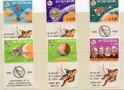 EQUATEUR / EARLY BIRD Espace Très Belle Série Avec Vignettes Dentelées Neuves MNH Cote 8.00 Vente 4.00 Euros