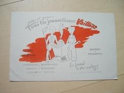 BUVARD VAILLANT PIF Parti Communiste Humanité - Blotters