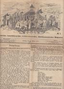 Frankfurter Latern 17. Februar 1872 Friedrich Stoltze - Zeitungen & Zeitschriften