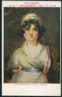 'GP Government Tea' Advertising Postcard. Mrs Siddons Painting - Advertising