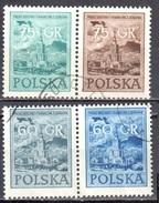 Poland 1955 - Polish National Day - Mi 930-33 - Horizontal Pair - Used