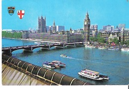 Houses Of Parliament & Westminster Bridge From County Hall, London - Houses Of Parliament