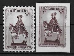 Belgique N°  592A / 592B  **  -- Cote : 46 €