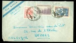 LUCHTPOST BRIEFOMSLAG Uit 1952 Gelopen BUENOS AIRES ARGENTINA Naar ANVERS BELGIE   (10.628) - Argentinië