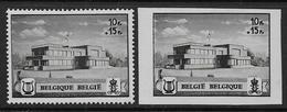 Belgique N°  537A / 537B  **  -- Cote : 15 €