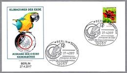 Emision De Moneda De 5 Eur - PAPAGAYO - PARROT. Berlin 2017